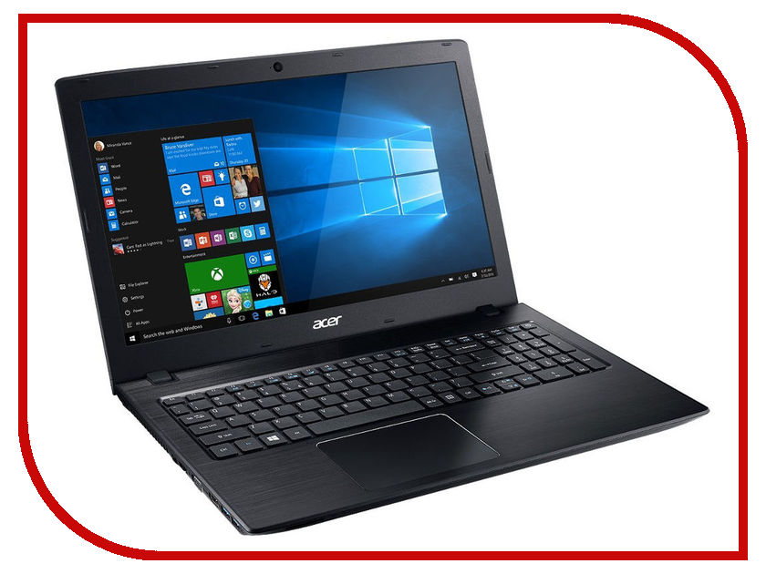 Ноутбук Acer Aspire E5-575G-396N Black NX.GDWER.022 (Intel Core i3-6100U 2.3 GHz/4096Mb/500Gb/nVidia GeForce GT 940MX 2048Mb/LAN/Wi-Fi/Bluetooth/Cam/15.6/1366x768/Windows 10 Home 64-bit) for acer aspire v3 772g notebook pc heatsink fan fit for gtx850 and gtx760m gpu 100% tested