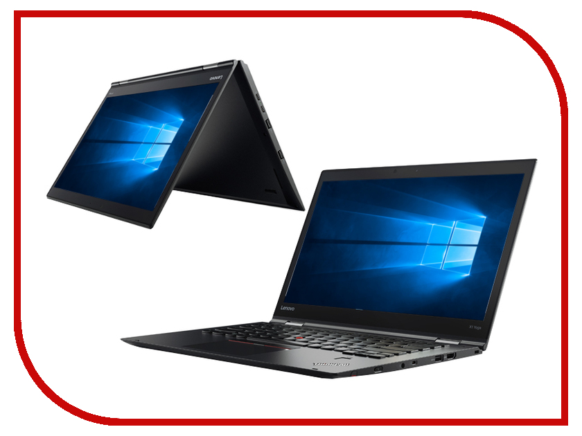 Ноутбук Lenovo ThinkPad X1 Yoga 2nd Gen Black 20JD005LRT (Intel Core i7-7500U 2.7 GHz/8192Mb/512Gb SSD/Intel HD Graphics/LTE/Wi-Fi/Bluetooth/Cam/14.0/2560x1440/Touchscreen/Windows 10 Home 64-bit)