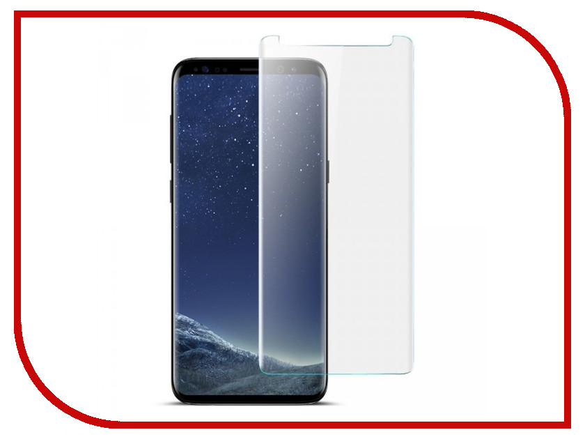 Фото Аксессуар Защитное стекло Samsung SM-G965F Galaxy S9 Plus 0.26mm Krutoff 02603 смартфон samsung galaxy s9 sm g965f 64 гб ультрафиолет