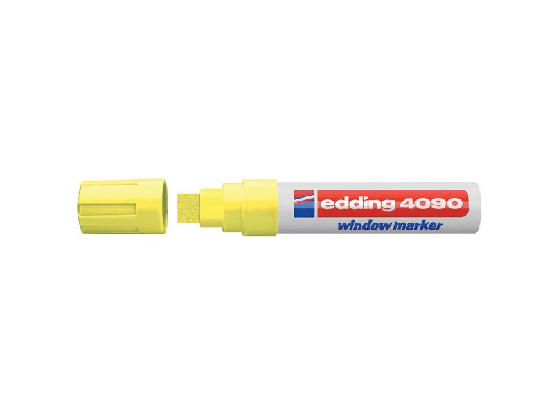 цена на Маркер Edding E-4090/65 4-15mm Yellow Neon 87127