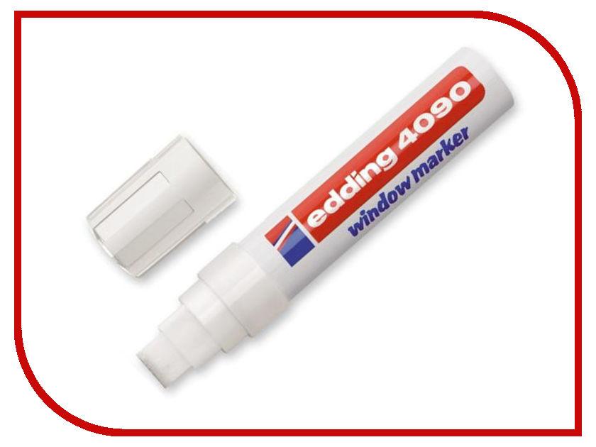 Маркер Edding E-4090/049 4-15mm White 51335 маркер edding e 4095 3mm white 397284