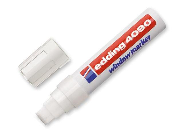 Маркер Edding E-4090/049 4-15mm White 51335