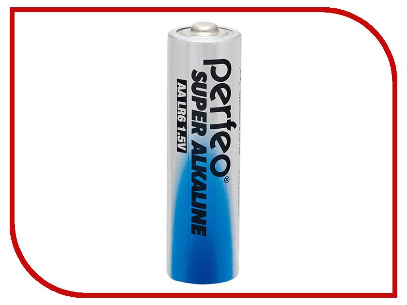 Батарейка AA - Perfeo LR6/10 Shiring Card Super Alkaline (10 штук) батарейки samsung pleomax lr6 aa 10 шт