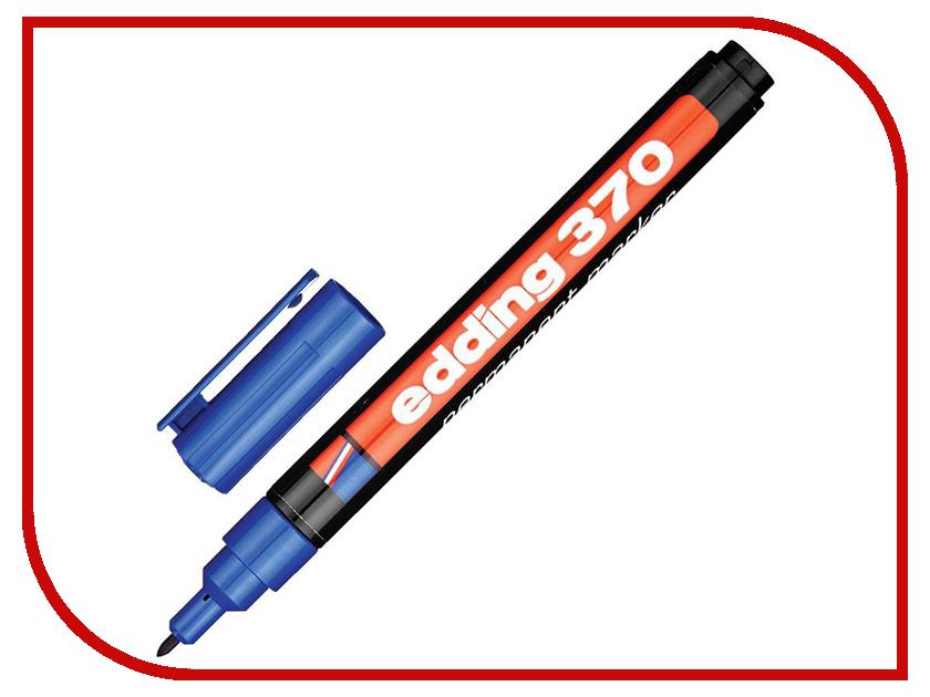 Маркер Edding E-370/3 1mm Blue маркер kores 1mm red 282355