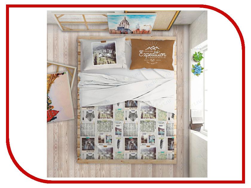 Постельное белье LOVE ME Traveler Комплект Евро 703655