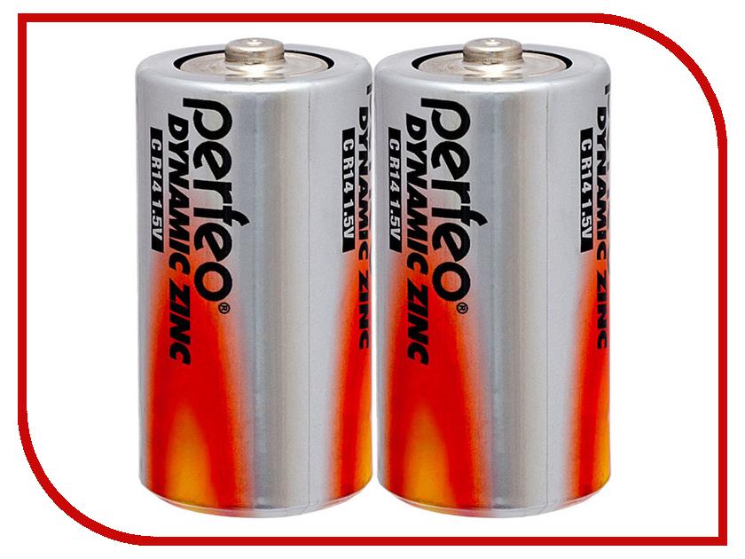 Батарейка Perfeo R14/2BL Dynamic Zinc (2 штуки)