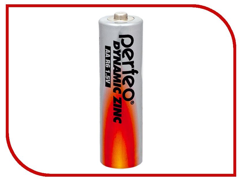 Батарейка Perfeo R6/4BL Dynamic Zinc (4 штуки) батарейка perfeo r20 2bl dynamic zinc 2 штуки