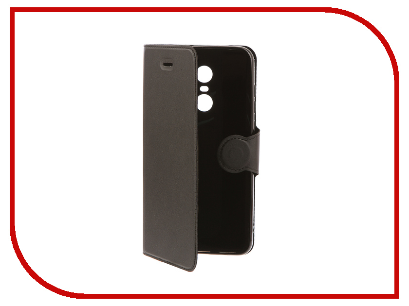 Аксессуар Чехол для Xiaomi Redmi 5 Plus Red Line Book Type Black УТ000014619 чехол книжка red line book type для xiaomi redmi 5 black