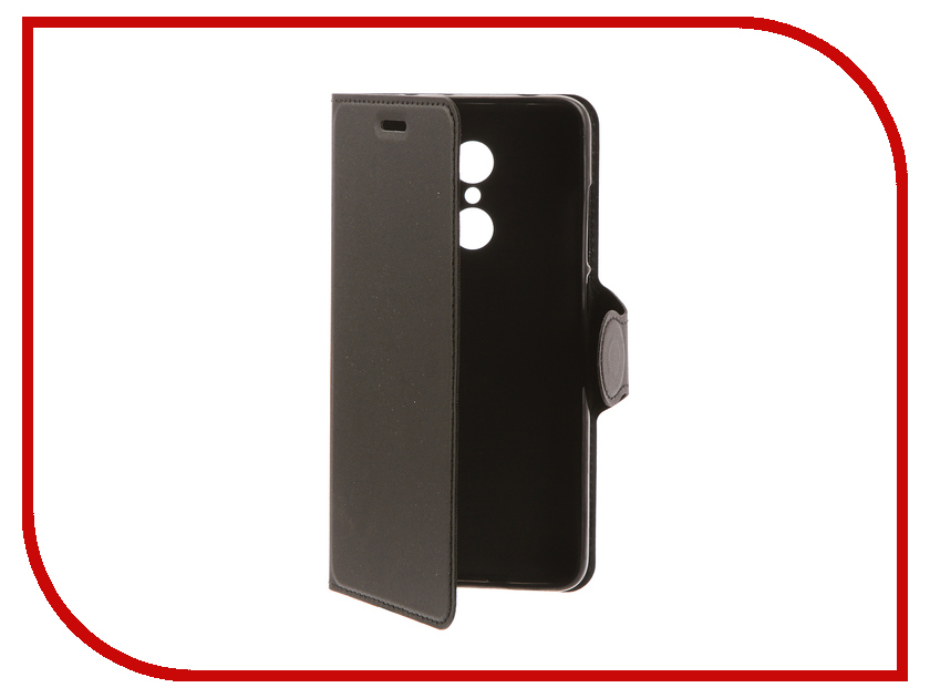 Аксессуар Чехол для Xiaomi Redmi 5 Red Line Book Type Black УТ000013545 чехол книжка red line book type для xiaomi redmi 5 black