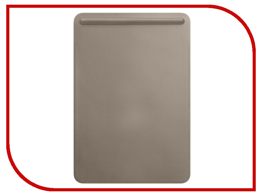 Аксессуар Чехол APPLE iPad Pro 10.5 Leather Sleeve Taupe MPU02ZM/A аксессуар чехол sox sle ea 06 ipad для ipad green