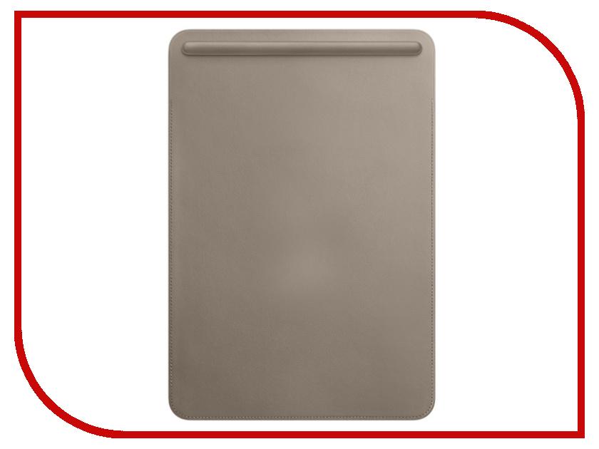 Аксессуар Чехол APPLE iPad Pro 10.5 Leather Sleeve Taupe MPU02ZM/A все цены