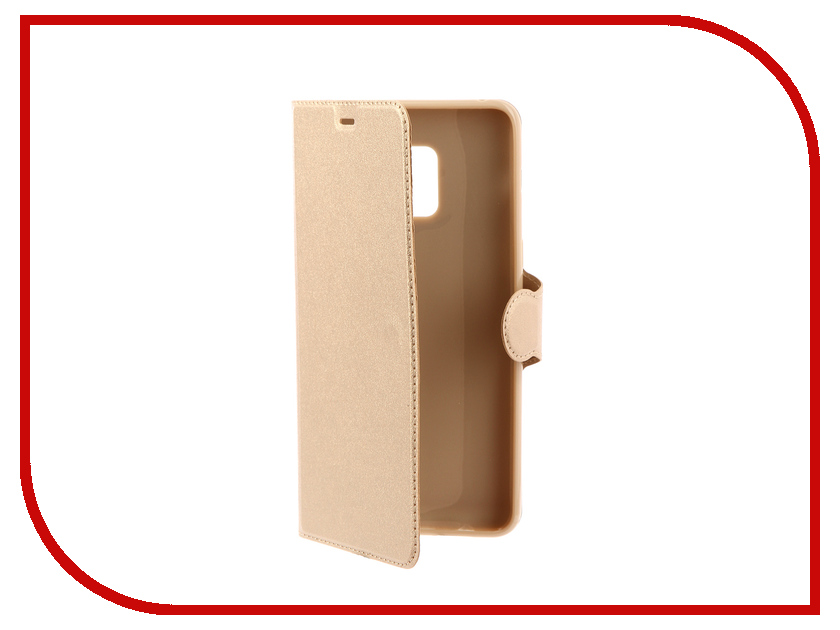 Аксессуар Чехол-книжка Samsung Galaxy A8 Plus 2018 A730 Red Line Book Type Gold аксессуар чехол книжка samsung galaxy note 4 armor book type red 6748