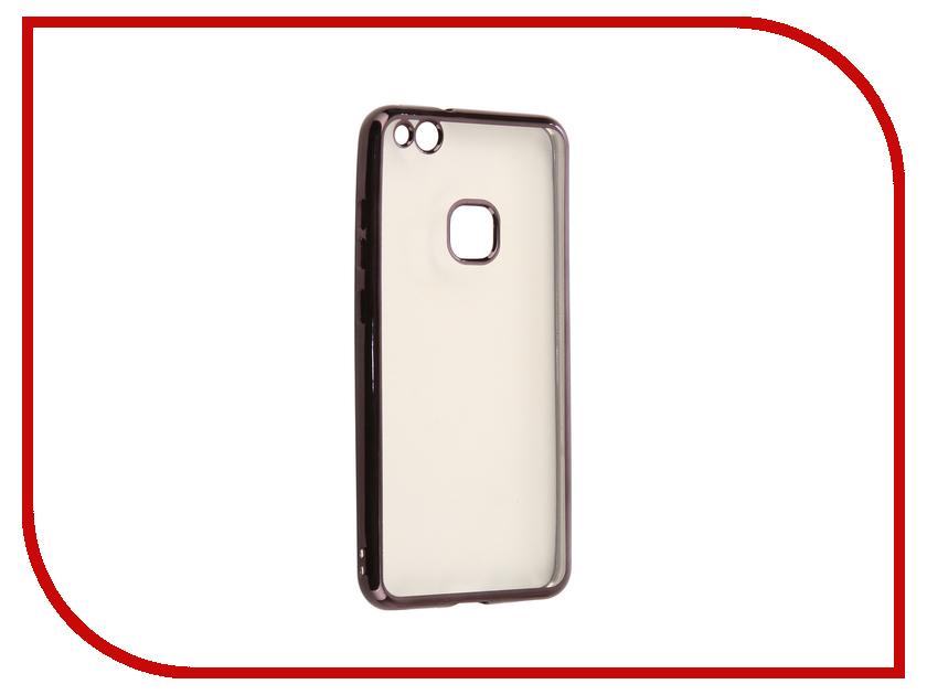 Аксессуар Чехол для Huawei Nova Lite 2017 iBox Blaze Silicone Black Frame смартфон huawei nova lite 2017 black