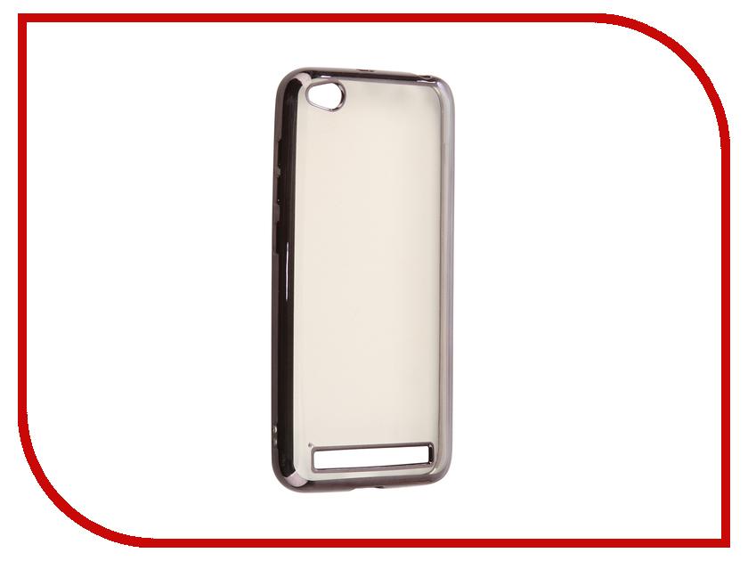 купить Аксессуар Чехол для Xiaomi Redmi 5A iBox Blaze Silicone Black Frame по цене 599 рублей