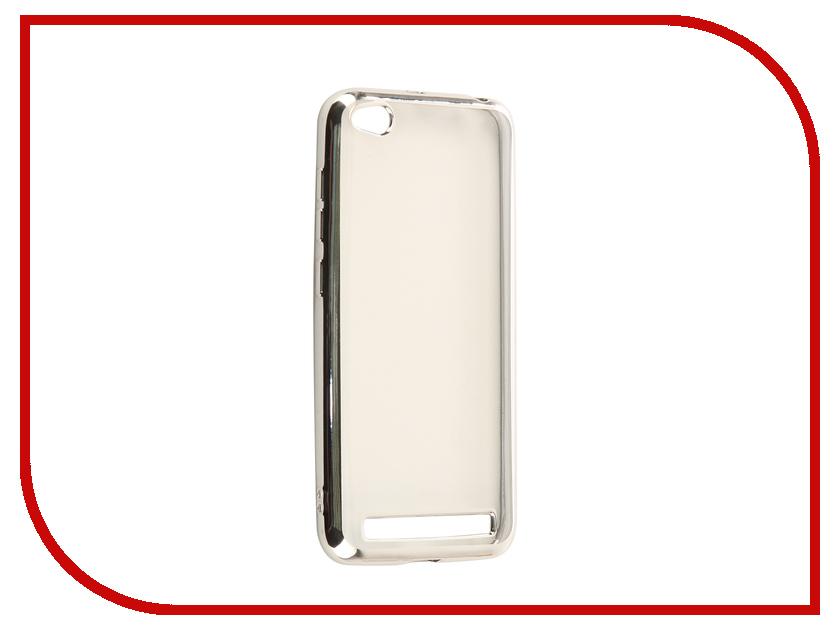 Аксессуар Чехол Xiaomi Redmi 5A iBox Blaze Silicone Silver Frame аксессуар чехол xiaomi redmi note 4x ibox blaze silicone gold frame