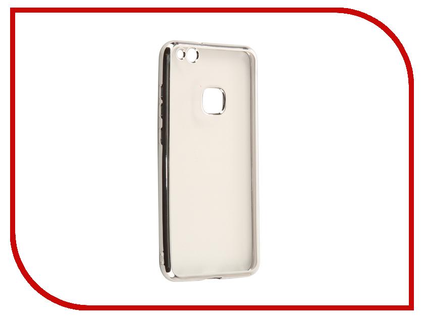 Аксессуар Чехол Huawei Nova Lite 2017 iBox Blaze Silicone Silver Frame смартфоны huawei nova lite gold
