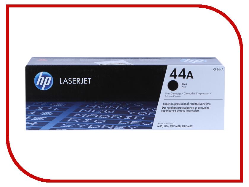 Картридж HP 44A CF244A Black для LaserJet ProM28a/M28w/M15a/M15w 95% new original laserjet formatter board for hp pro200 m251 m251dn 251nw cf153 60001 cf152 60001 printer part on sale