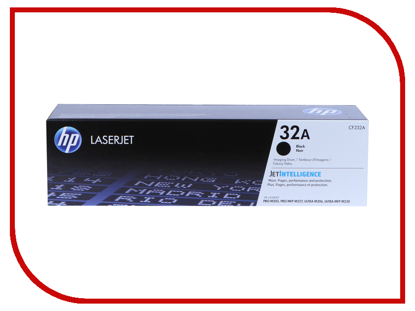 Картридж HP 32A CF232A Black для LaserJet Pro M227fdn/M227fdw/M227sdn/M203dn/M203dw/ Ultra M230sdn 2x compatible hp cf230a cf230 230a toner cartridge for hp laserjet m203d m203dn m203dw mfp m227fdn m227fdw no chip