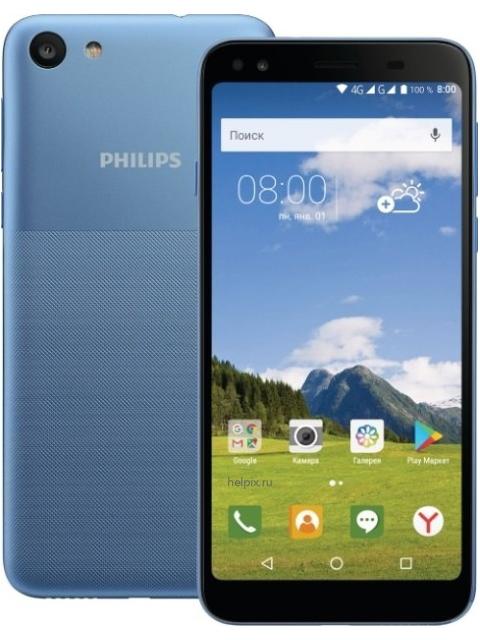 Сотовый телефон Philips S395 Blue philips philips dctg280 цифровой беспроводной телефон китайский меню handsfree домашний офис телефон оранжевый