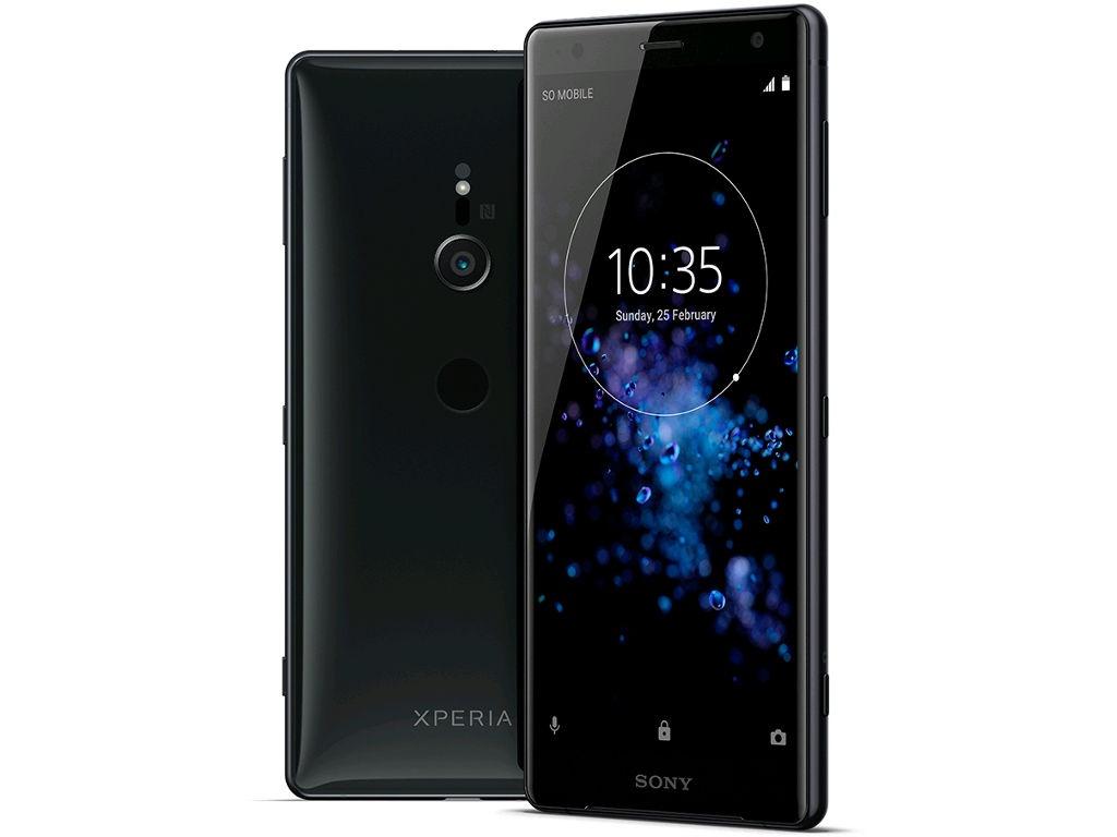 Сотовый телефон Sony Xperia XZ2 Black сотовый телефон sony xperia xz2 compact black