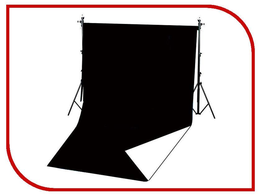 FST 1.6x3.4m виниловый Black-White Matt fst 100x200 grey matt