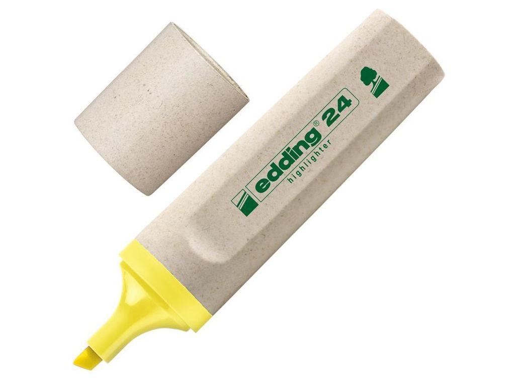 Маркер Edding ECO E-24/5 1-5mm Yellow 204289 маркер attache selection neon dash 1 5mm yellow 426881