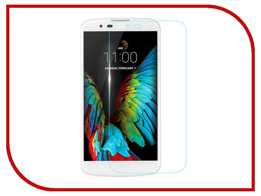 Аксессуар Защитное стекло для LG K10 Onext 41657 смартфон lg k430ds k10 синий