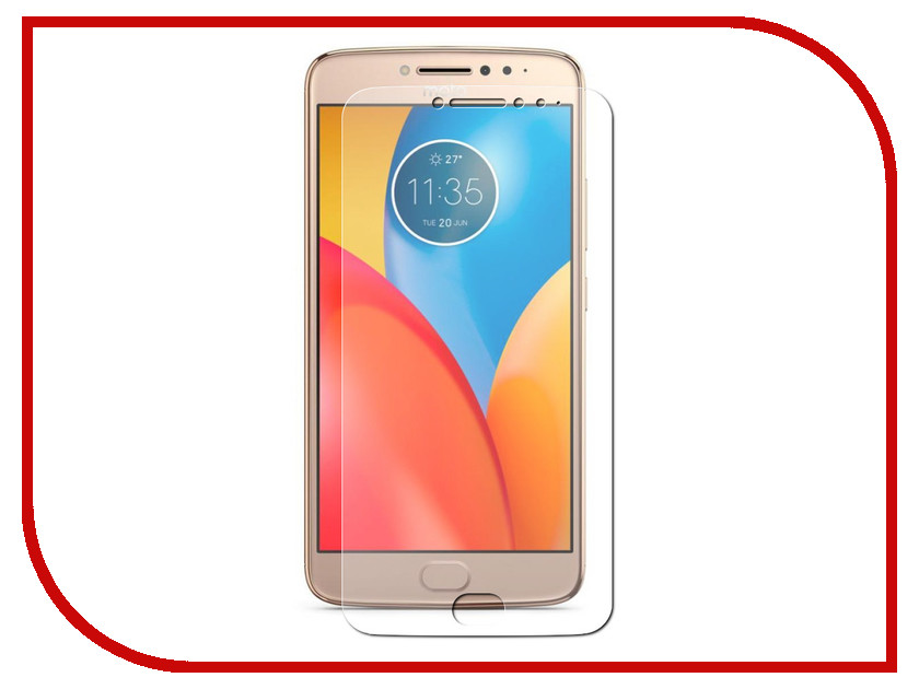 Аксессуар Защитное стекло для Motorola Moto E4 Plus Onext 41352 2016 sale rushed 10pcs free dhl ems for motorola moto xt1254 touch digitizer lcd display 100
