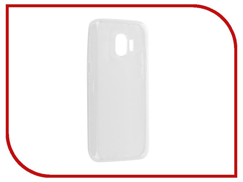 Аксессуар Чехол Samsung Galaxy J2 Pro 2018 Onext Silicone Transparent 70559 аксессуар защитное стекло samsung galaxy s8 onext 3d white 41261