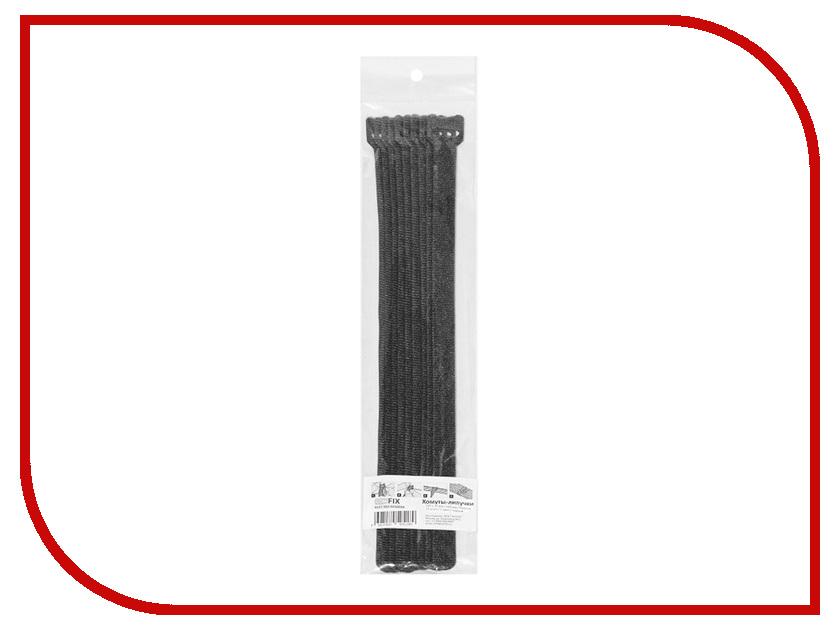 Хомуты-липучки Comfix320x14mm 10шт Black HLCT-320-RPX0000