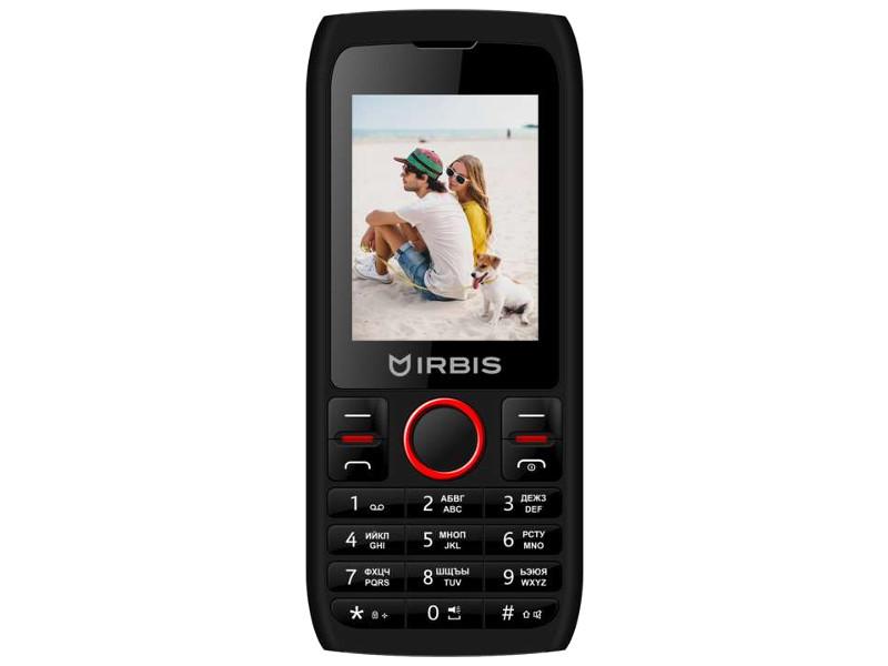 Сотовый телефон Irbis SF52 Black-Red