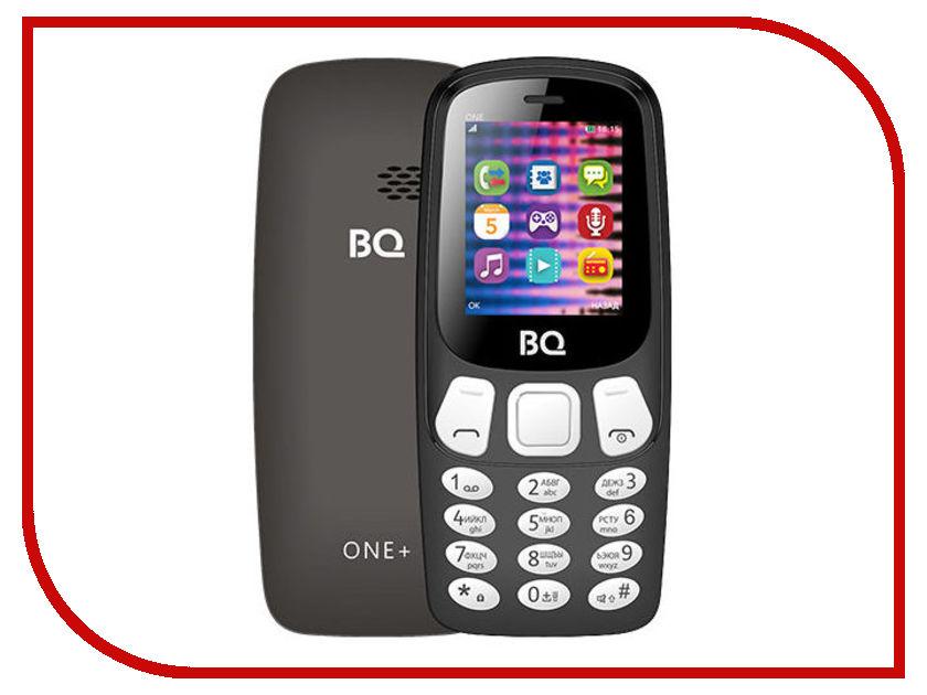 Сотовый телефон BQ BQ-1845 One+ Black сотовый телефон bq 2426 energy l black