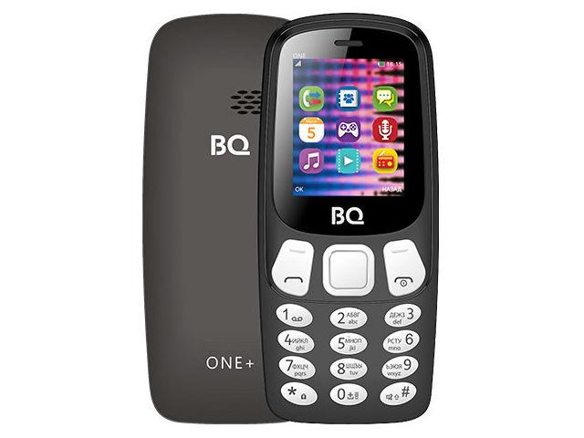 Сотовый телефон BQ BQ-1845 One+ Black сотовый телефон bq 2433 dream duo red