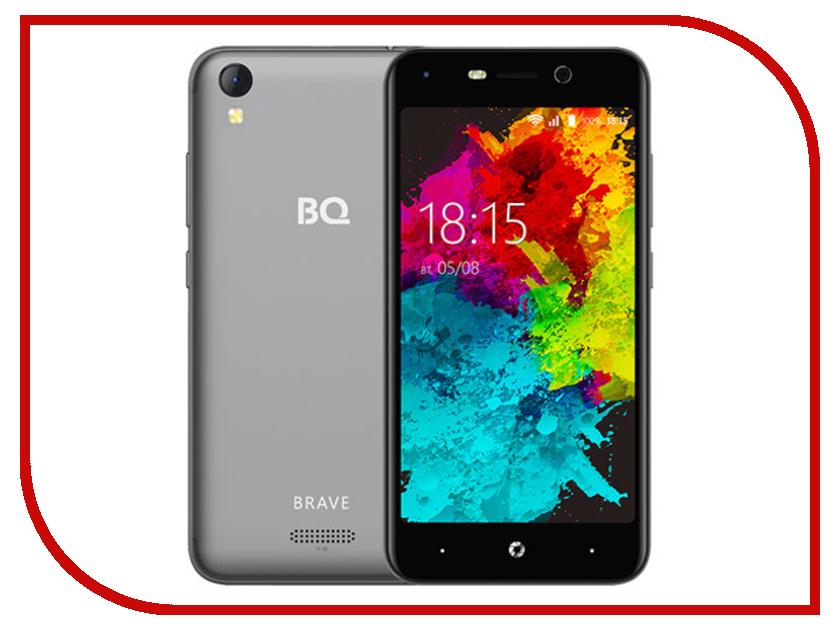 Сотовый телефон BQ 5008L Brave Grey сотовый телефон bq 1807 step black