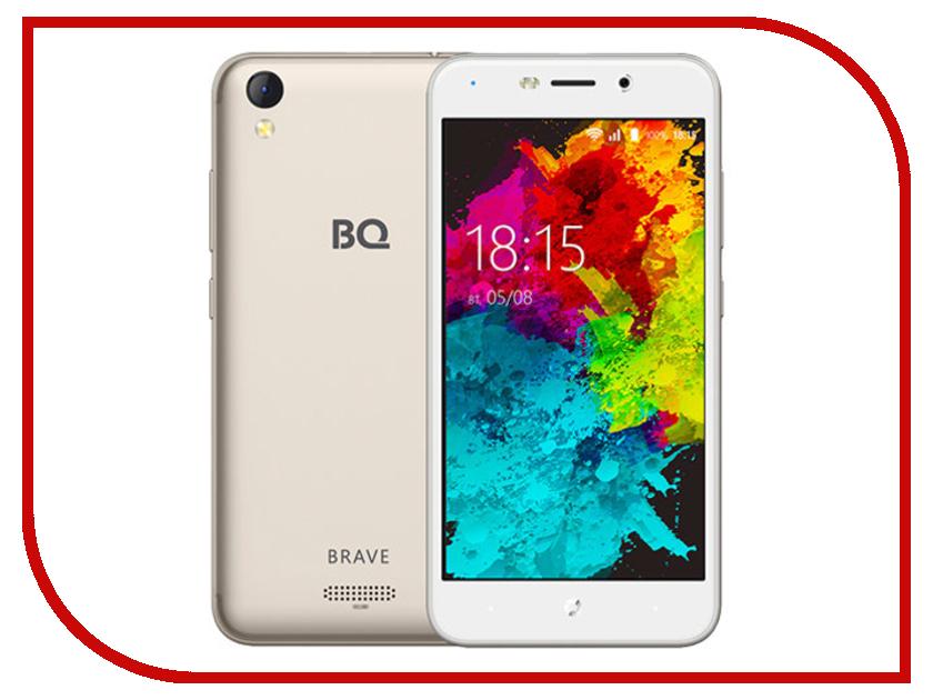 Сотовый телефон BQ 5008L Brave Gold сотовый