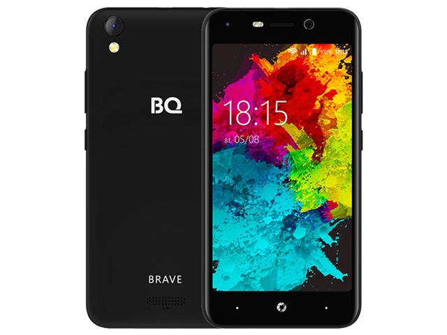 Сотовый телефон BQ 5008L Brave Black телефон
