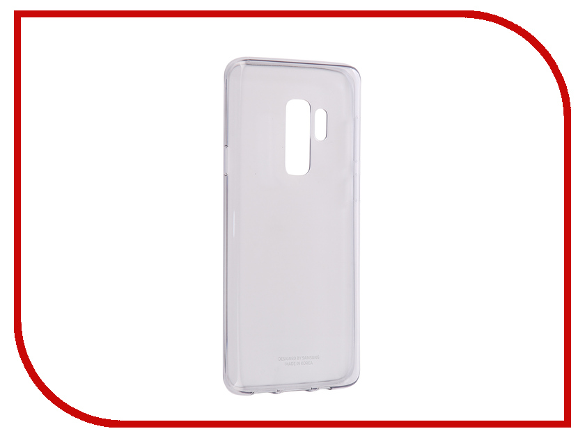 Аксессуар Чехол Samsung Galaxy S9 Plus Clear Cover Transparent EF-QG965TTEGRU