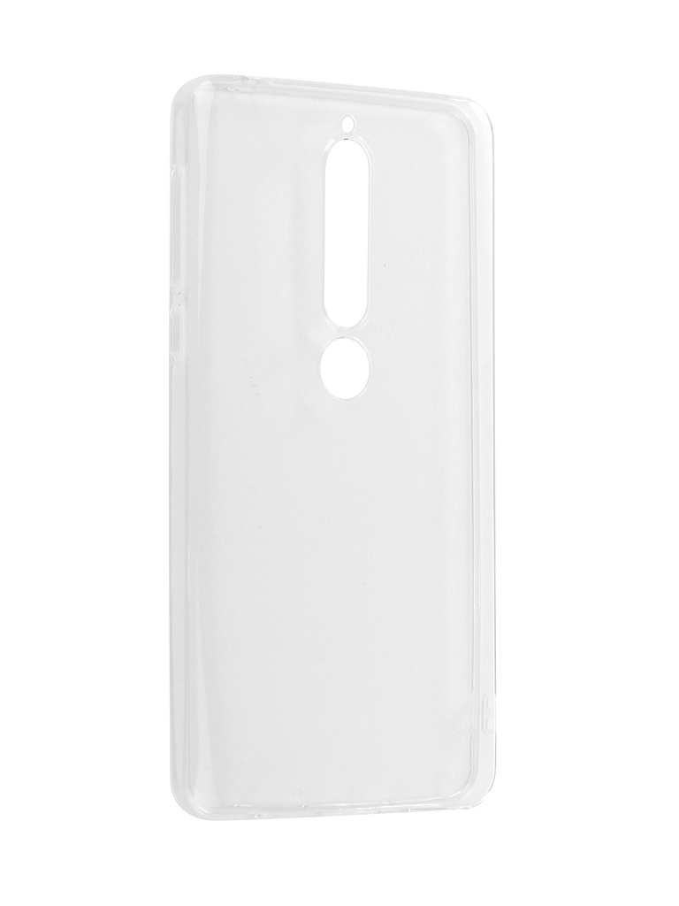 Чехол Zibelino для Nokia 6 2018 Ultra Thin Case White ZUTC-NOK-6-2018-WHT
