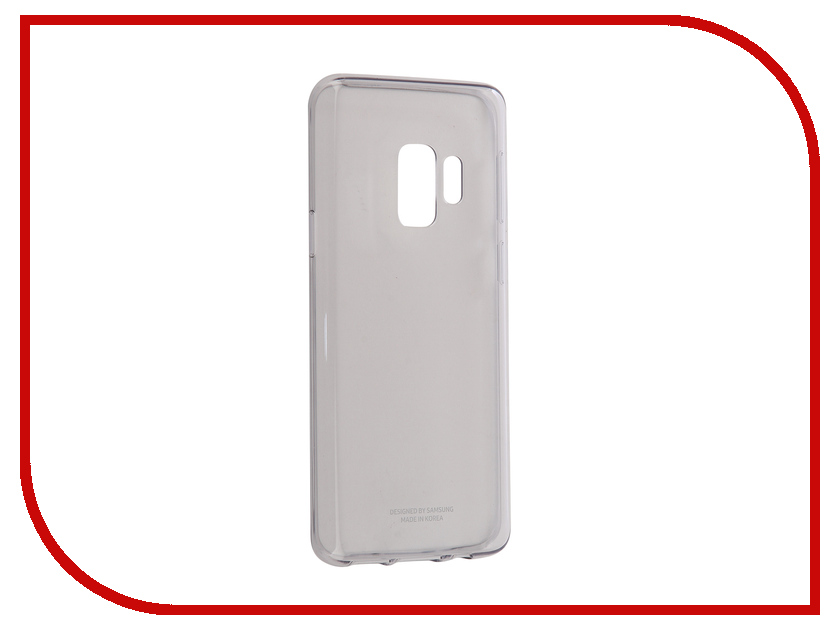 Аксессуар Чехол Samsung Galaxy S9 Clear Cover Transparent EF-QG960TTEGRU