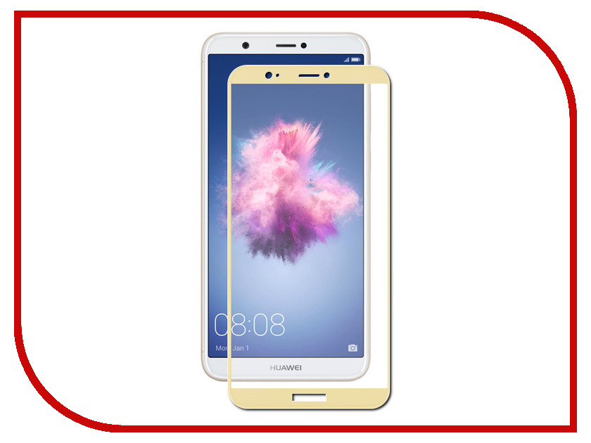 Аксессуар Защитное стекло Huawei P Smart Zibelino TG Full Screen 0.33mm 2.5D Gold ZTG-FS-HUA-PSM-GLD