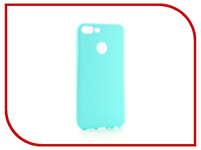 Аксессуар Чехол для Huawei Honor 9 Lite Zibelino Soft Matte Turquoise ZSM-HUA-9L-HON-TQS баллон для дайвинга df 9l 9l 9l 30mp