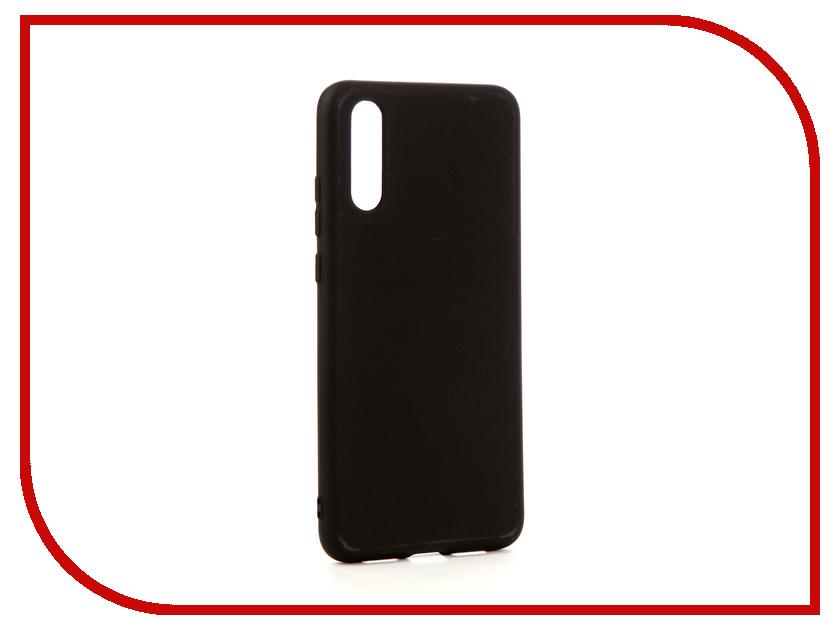 Аксессуар Чехол для Huawei P20 Zibelino Soft Matte Black ZSM-HUA-P20-BLK  - купить со скидкой