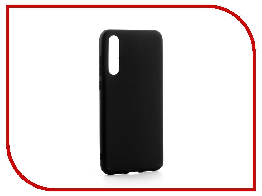 Аксессуар Чехол для Huawei P20 Pro Zibelino Soft Matte Black ZSM-HUA-P20-PRO-BLK цена