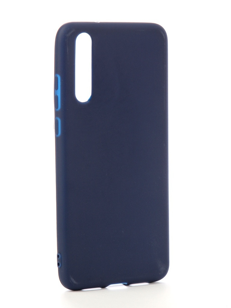 Аксессуар Чехол Zibelino для Huawei P20 Pro Soft Matte Dark Blue ZSM-HUA-P20-PRO-DBLU аксессуар чехол zibelino для honor 8c 2018 soft matte dark blue zsm hua 8c dbl