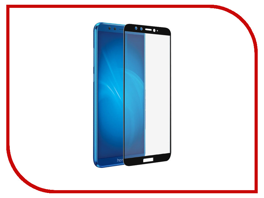 Аксессуар Защитное стекло для Huawei Honor 9 Lite LuxCase 2.5D Full Screen Black Frame 77865 for lenovo zuk z2 lcd screen display with touch screen digitizer panel glass assembly black white replacement parts free shipping