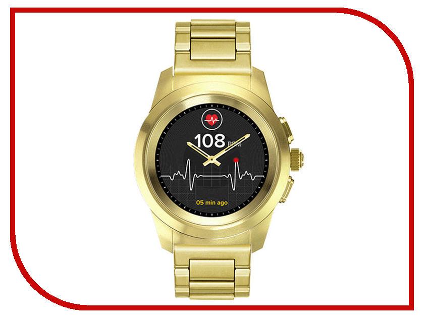 Умные часы MyKronoz ZeTime Elite Petite Yellow-Gold mykronoz умные наручные часы mykronoz zesplash white белые