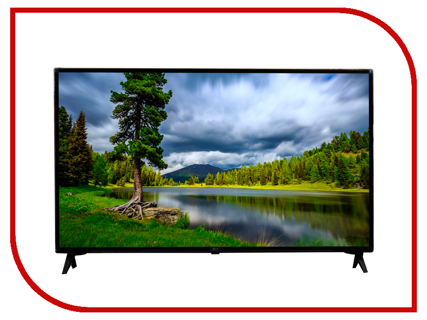 Телевизор LG 49UK6300 мышь rapoo n1162 белый