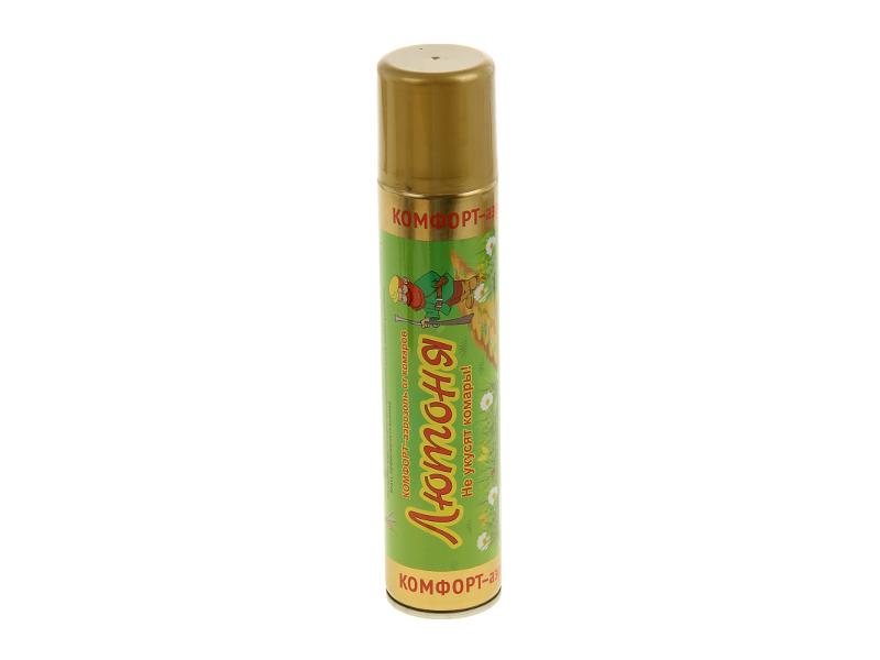 Средство защиты от комаров Ваше Хозяйство Аэрозоль Лютоня Комфорт 1108779