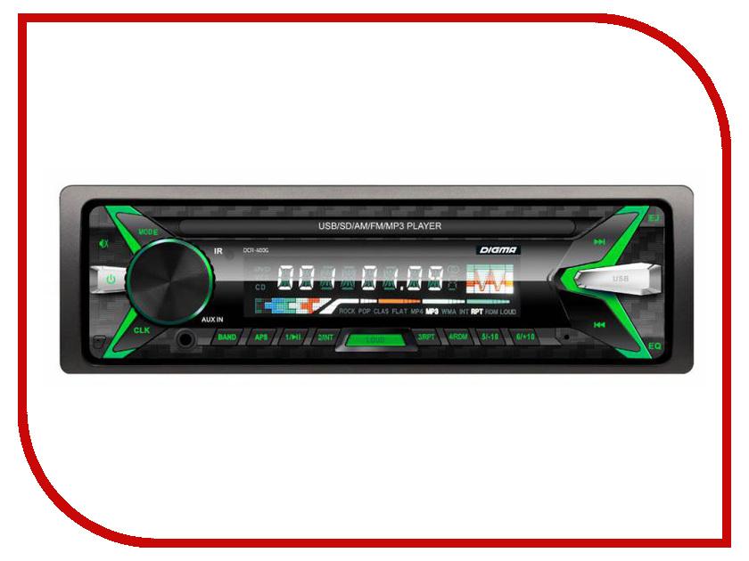 Автомагнитола Digma DCR-400G  - купить со скидкой