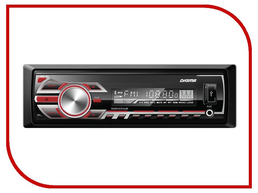 Купить Автомагнитола Digma DCR-420R